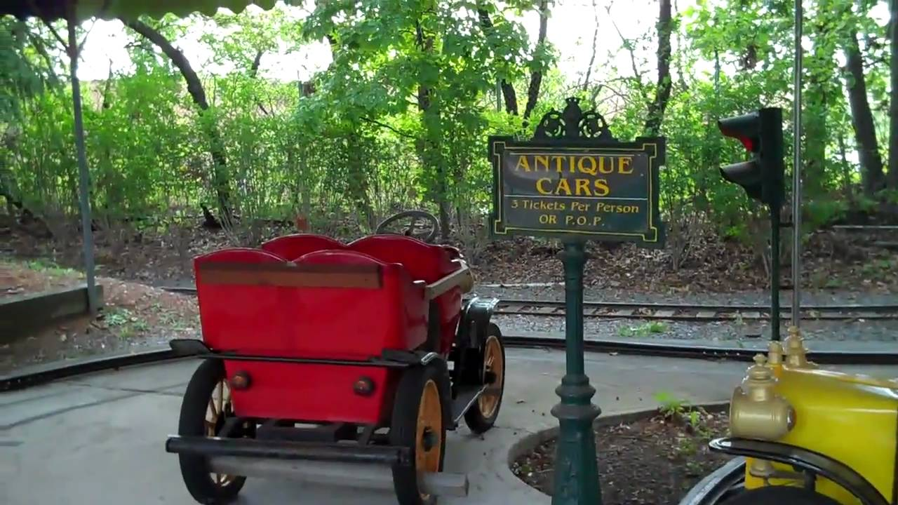 Adventureland Long Island Antique Cars Ride - YouTube