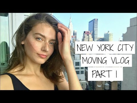 NYC Moving Vlog PT 1 | Jessica Clements