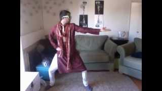"Dancing against HIV/AIDS - ""Tunak Tunak"""