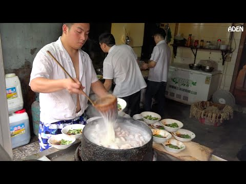 Spicy Sichuan Noodles in China