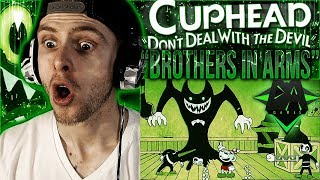 """Video Vapor Reacts #582   NEW CUPHEAD CROSSOVER SONG LYRIC VIDEO """"Brothers In Arms"""" by DAGames REACTION!! download MP3, 3GP, MP4, WEBM, AVI, FLV Juli 2018"""