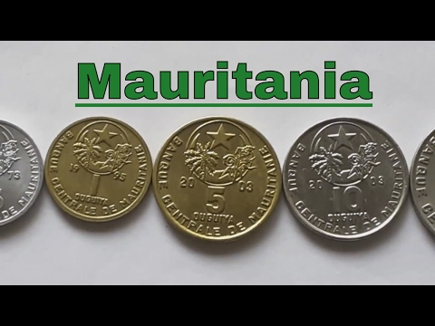 Mauritanian coins to 2009