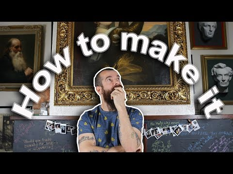 How to Make it as a Visual Artist. Know Yourself! Cesar Santos vlog 049
