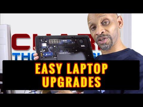 Easy Laptop Upgrade
