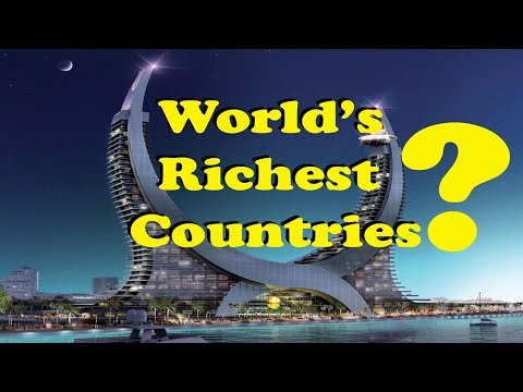 World's Richest Countries by GDP | Per Capita | Top 10 Richest Country 2017 List