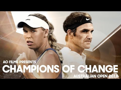 Champions of Change | Australian Open 2018