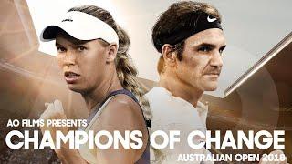 Champions of Change | Australian Open 2018