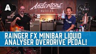 How Many Liquids Can Chappers & The Captain Pour Into a Pedal? | Rainger FX MiniBar