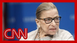 Ruth Bader Ginsburg hospitalized with chills and a fever