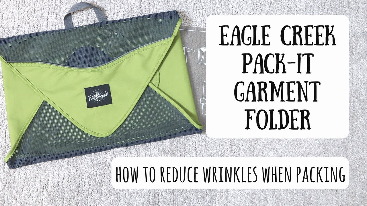 Eagle creek pack it garment folder best way to pack for Best way to pack shirts