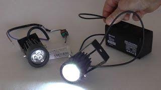 Светодиодные дополнительные противотуманные фары(Простые светодиодные противотуманки., 2013-10-23T10:41:48.000Z)