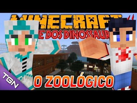 Minecraft Parque dos Dinossauros II :: Ep 26 :: O ZOOLÓGICO