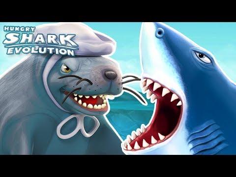 SEAL MAMA BOSS!! || Hungry Shark Evolution - Ep 31 HD