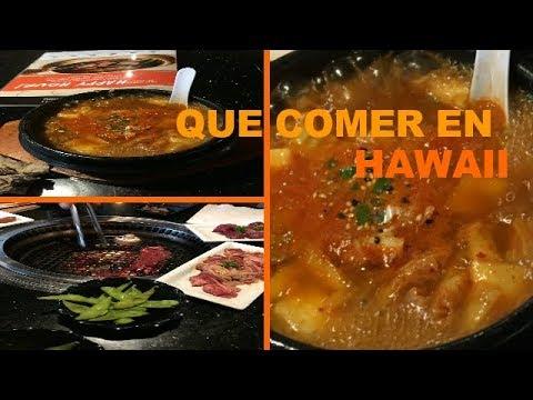 Que Comer En Hawaii Comida Japonesa Muy Deliciosa Youtube