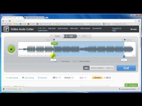 Mp3 Cutter - soft online de transformat melodiile in ringtone-uri
