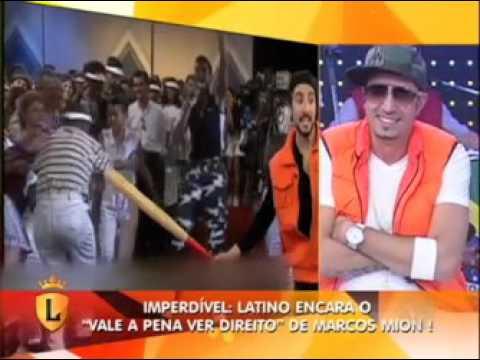 """Vale a Pena Ver Direito o Latino no programa """"Ratinho Show"""" em 1998 #arquivolegendários"""