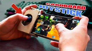 tHE BEST cardboard controller for CALL OF DUTY, fortnite, pubg, free fire