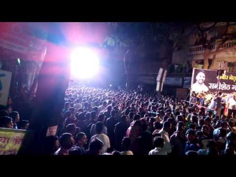 Dahi handi 2016 in hadpser with Dj mannu & Dj Sachin