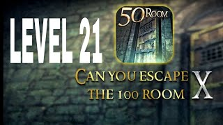 Can You Escape The 100 room X level 21 Walkthrough