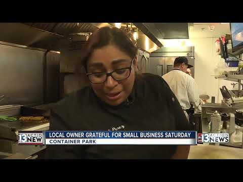 Locals support Small Business Saturday in Downtown Las Vegas