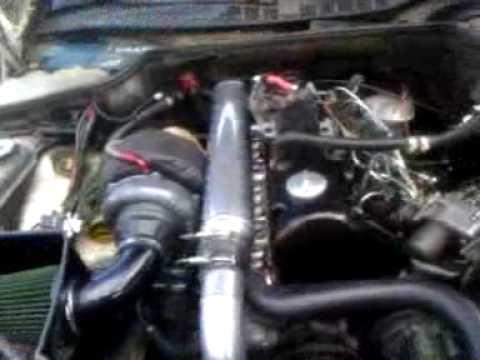 Repeat 54 GMC S10 Swap OM617 Turbo Diesel First Startup in