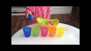 Farben lernen für Kleinkinder (Deutsch)