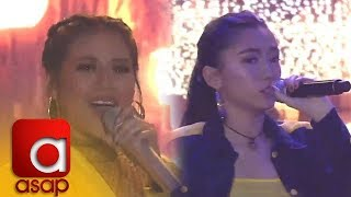 "ASAP: Online sensation Karencitta performs her hit song ""Cebuana"" with Morisette"