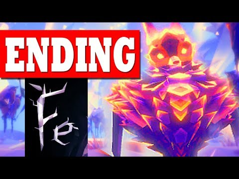 Fe - ENDING FINAL BOSS - Forest Area 5 All Puzzles Solved / Ending and Credits