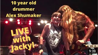 10 year old Alex Shumaker playing I stand Alone with Jackyl YouTube Videos