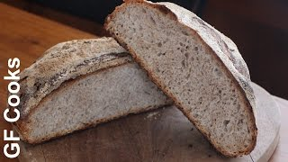 Oatmeal No Knead Bread Recipe - Gardenfork Cooks