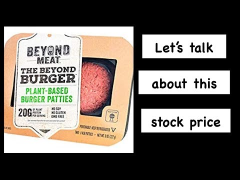 Beyond Meat Stock (Lets Talk)💹BYND