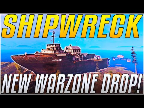 WARZONE'S SHIPWRECK IS CHAOS!! - Zombies, New Loot & More! [Cold War Warzone] - IceManIsaac