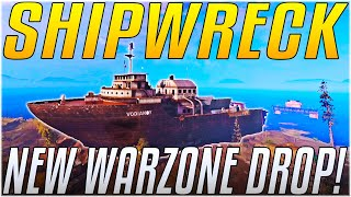 WARZONE'S SHIPWRECK IS CHAOS!! - Zombies, New Loot & More! [Cold War Warzone]