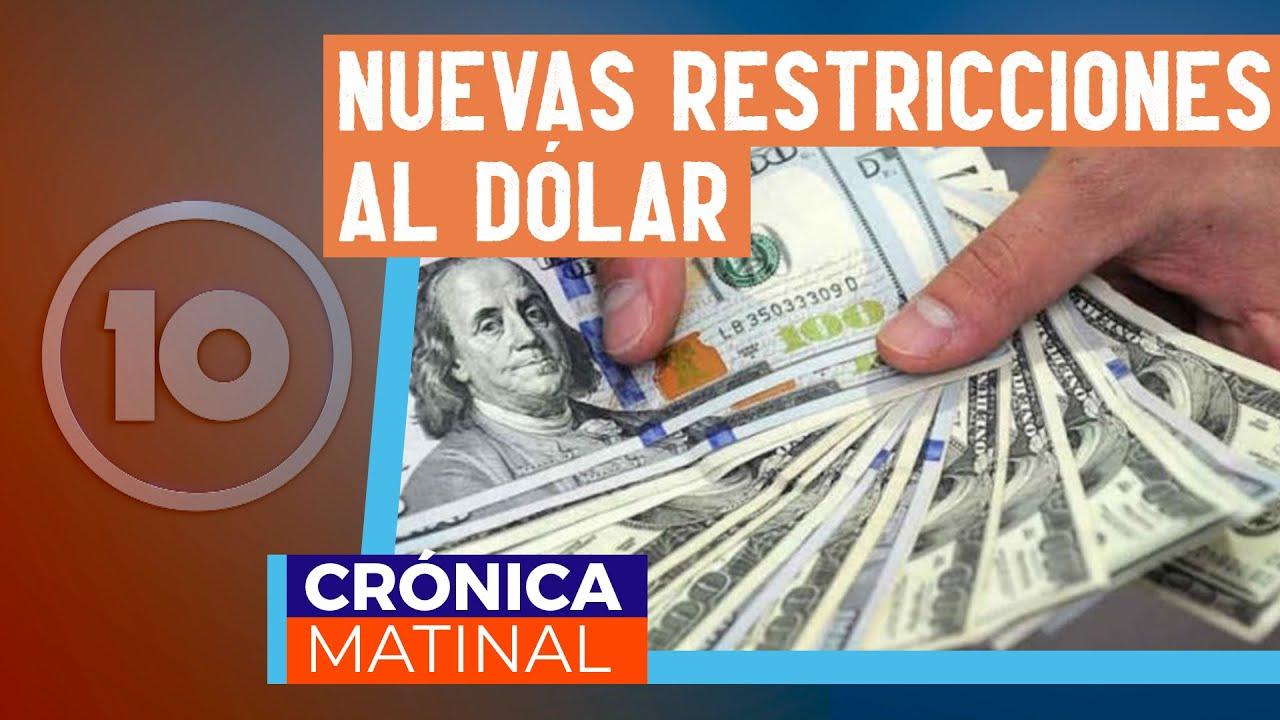 Implementan mayores controles a transacciones en dólares