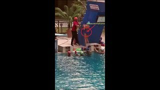Video of Swimming Coach Whipping Girl Student goes viral