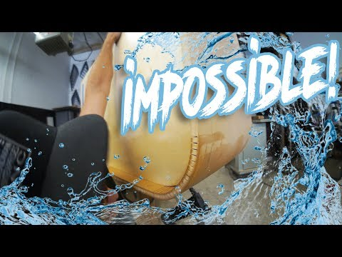 Impossible water kerf