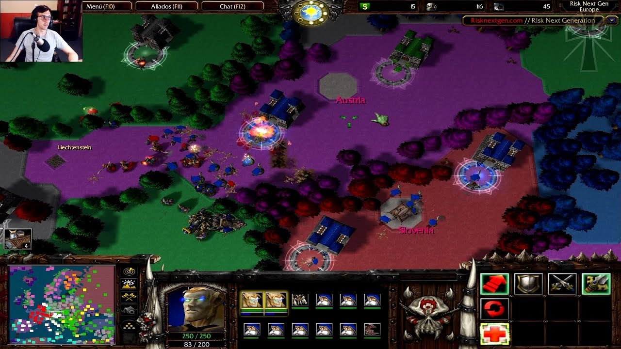 "Warcraft III - 48ª Partida - RISK DEVO REBORN: ""III GUERRA MUNDIAL"""