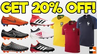 How To Make MASSIVE SAVINGS On Your ⚽ Gear!