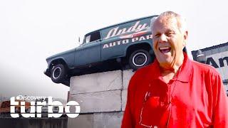 Restauran un camión Chevy Suburban 55 y lo usan como letrero   Chatarra de oro   Discovery Turbo