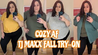 Cozy AF Plus Size TJMaxx Fall Try-On