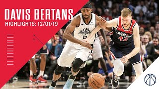 Highlights: Davis Bertans vs. Clippers 12/01/19