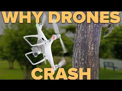 4 REASONS WHY DRONES CRASH