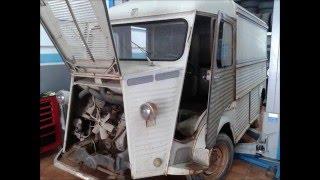 Citroen HY del año 1967 Restauración completa en MRD Motors