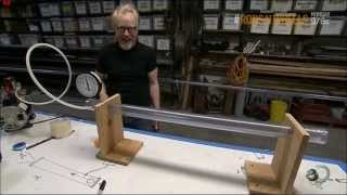 Extremely Simple Ping Pong Ball Cannon (Mythbusters)