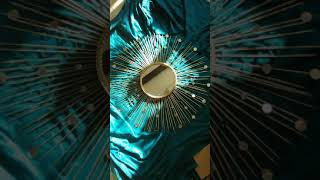 DIY Sunburst Mirror Gold version
