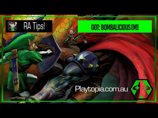 Retroachievements - The Legend of Zelda: Ocarina of Time - Bombablicious