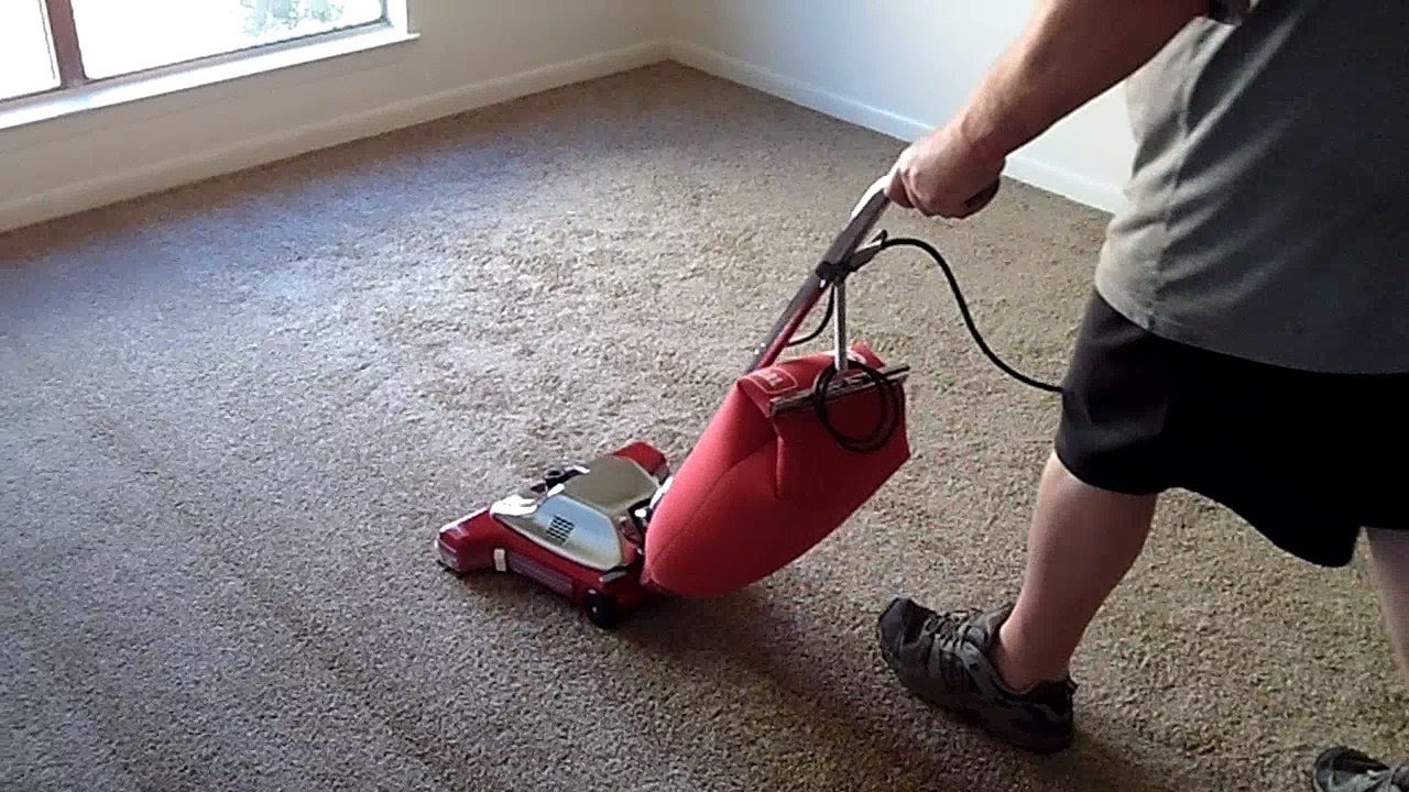 New Carpet Vacuumed With Sanitaire Sc899f Youtube