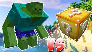 ZOMBIE MUTANTE VS. LUCKY BLOCK (MINECRAFT LUCKY BLOCK CHALLENGE)
