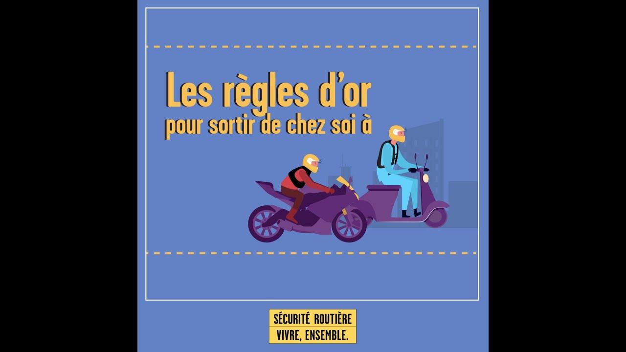🏍🛵 Les règles d'or pour sortir de chez soi à moto ou scooter
