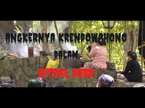 Bikin BERGIDIK...Begini SAKRALNYA Ritual Suro di Alas KRENDOWAHONO...(02/09/2021).